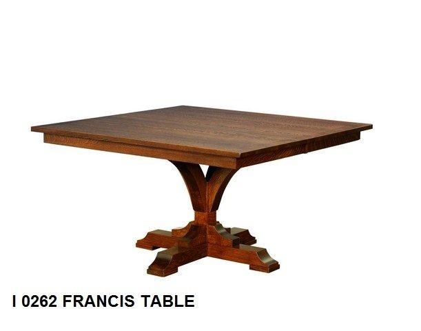 I 0262 Francis table
