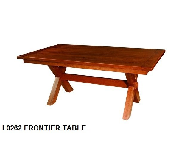 I 0262 Frontier table