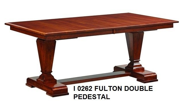 I 0262 Fulton double pedestal