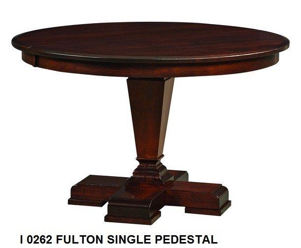 I 0262 Fulton single pedestal