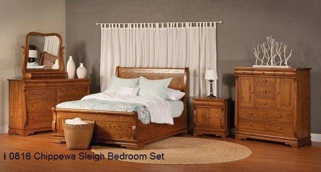 I 0816 Chippewa Sleigh Bedroom Set