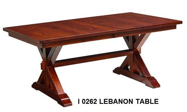 I 0262 Lebanon table