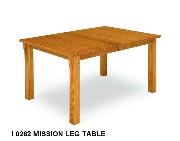 I 0262 Mission Leg table