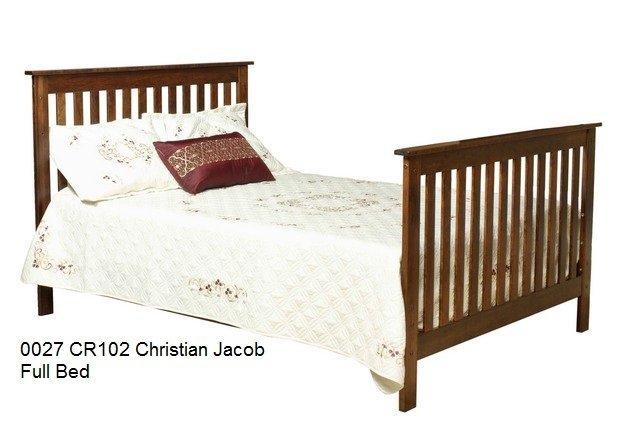 0027 CR 102 Christian Jacob Full Bed