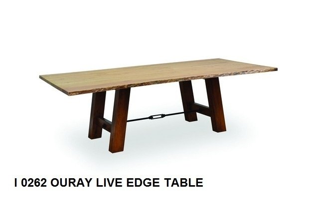 I 0262 Ouray Live edge table