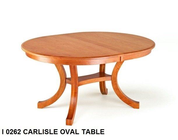 I 0262 Carlisle oval table