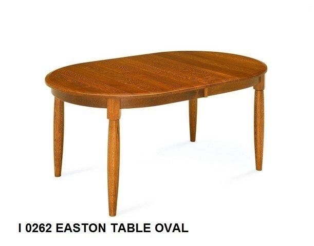 I 0262 Easton oval table