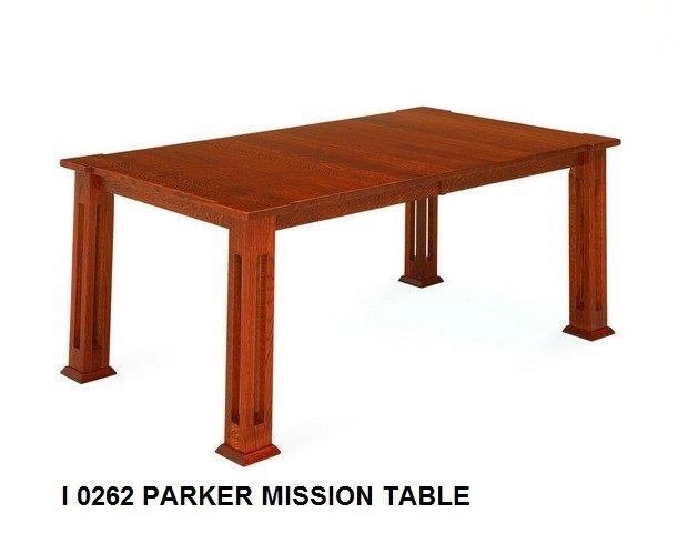 I 0262 Parker mission  table
