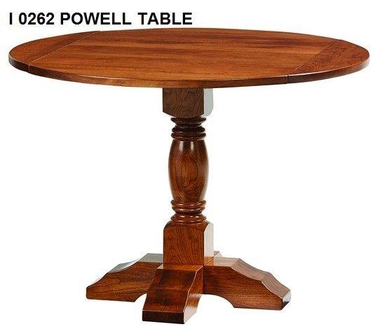 I 0262 Powell table