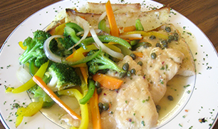 Chicken Piccata Whole Chicken