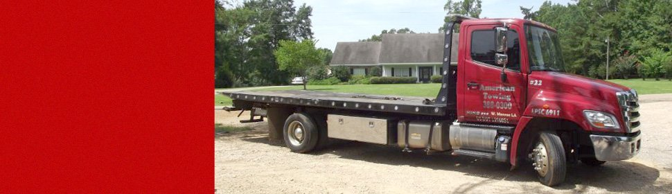 Towing & Recovery   Ruston, LA   American Towing   318-243-0871