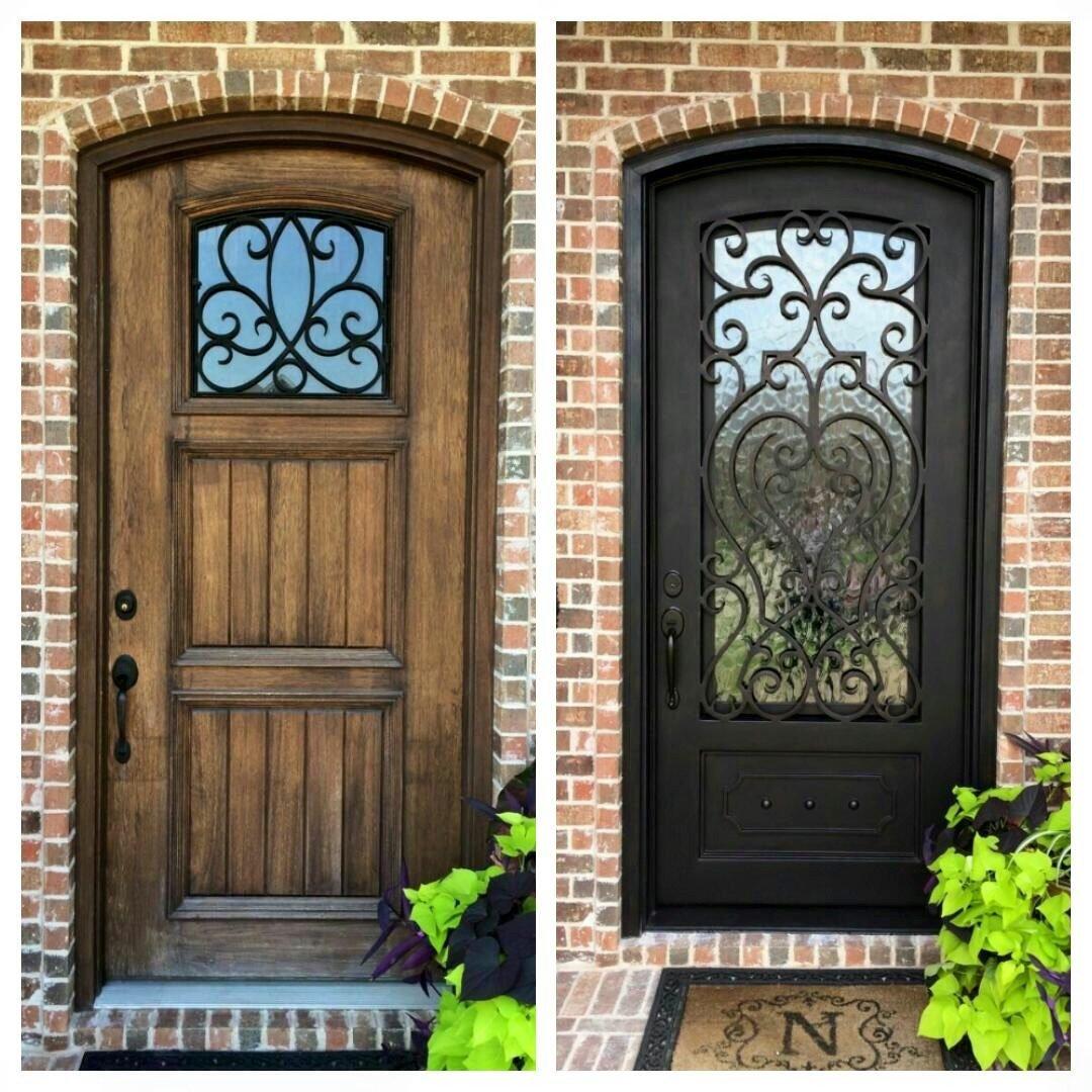 Handmade iron doors