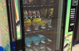 24 hours vending machine