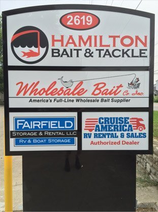 fishing accessories | licenses | Fairfield, OH | Hamilton Bait & Tackle | 513-869-2248