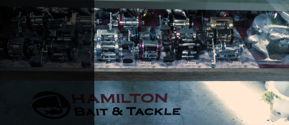 Fishing reels on hamilton shop