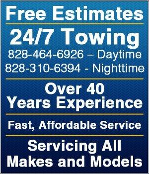 Towing - Conover, NC - Butch's Service Center