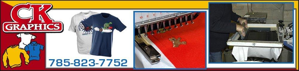 Custom Screen Printing And Embroidery - Salina, KS - C K Graphics