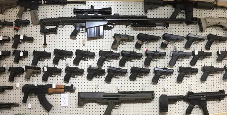 Assorted Firearms