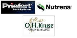 Priefert, Nutrena and OH Kruse Logo