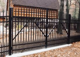 Wrought Iron fences - Traverse City, MI - Durable Fence Inc. - Wrought Iron Fence