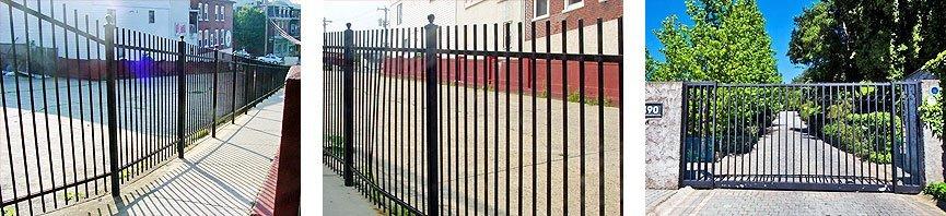 Commercial fences - Traverse City, MI - Durable Fence Inc. - Wrought Iron Fence