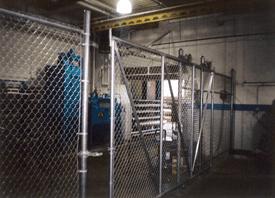 Industrial Fences - Traverse City, MI - Durable Fence Inc. - Waste Treatment Fences
