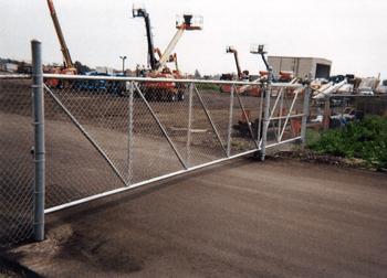 Industrial Fences - Traverse City, MI - Durable Fence Inc. - Roller Gates