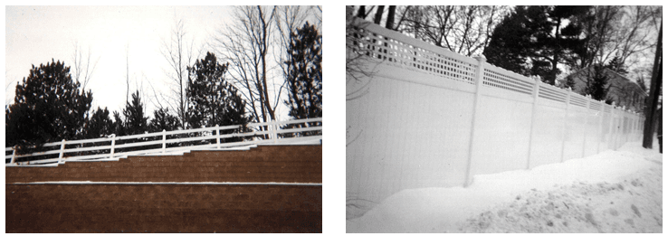 Residential Fences - Traverse City, MI - Durable Fence   Inc. - Vinyl Fence