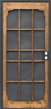 Woodguard Security Door