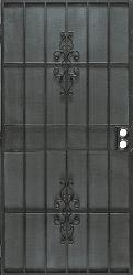 Flagstaff Black Security Door