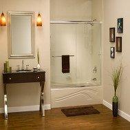custom fitted shower