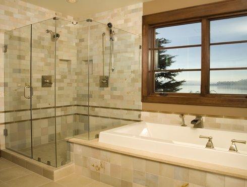 We do framed to custom frameless showers