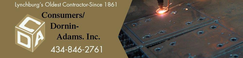 Sheet Metal Contractor - Lynchburg, VA - Consumers Dornin-Adams Inc.