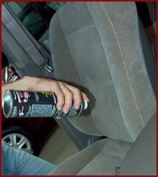 Auto upholstery protectant