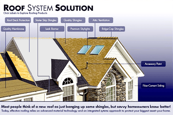 A View Of Roof System Solution