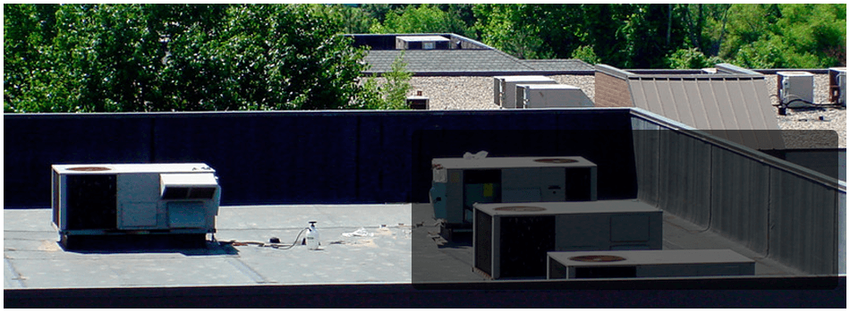 A View Of Flat Roofing