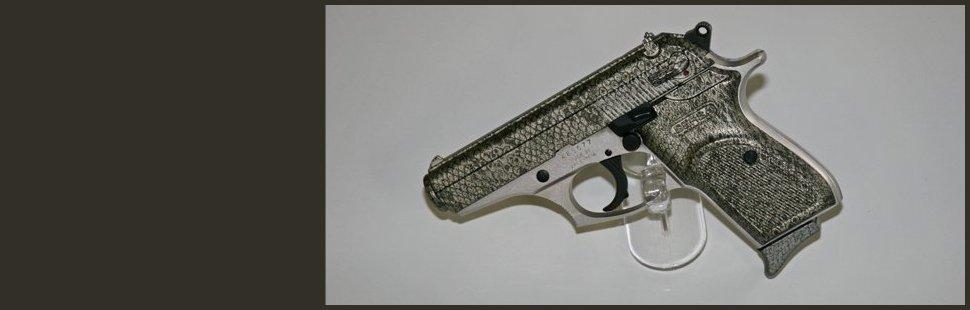 Snake skin gun