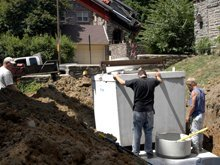 Septic Installation - Topeka, KS  - Dick Cook Septic Systems-Septic Installation