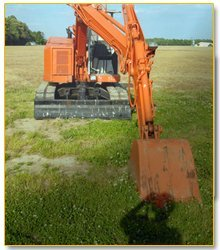 excavators - Midland, MI - A & B Excavating Trucking - excavation for lot preparation