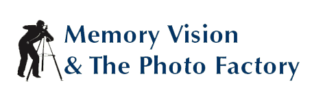 Memory Vision & The Photo Factory - Logo