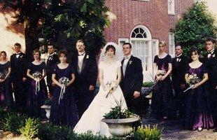 Wedding photo shoot at The Mansion
