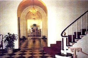 The Mansion Grand Foyer hallway to dining room