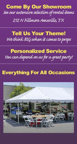 Party Rentals - Amarillo, TX - Display Concepts Party Rentals
