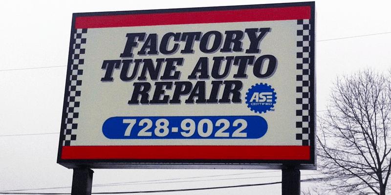 Factoru Tune Automotive Inc Signage