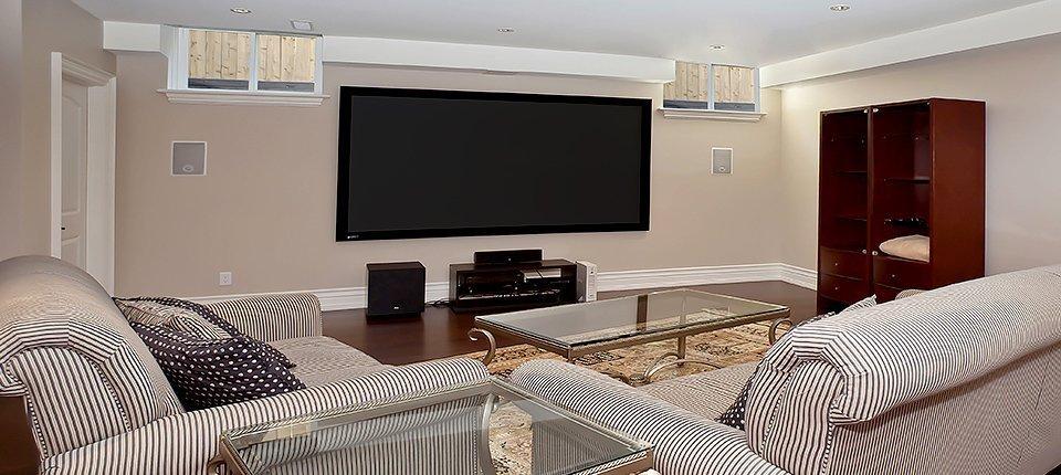 Wall television