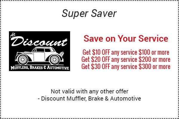 Discount muffler and brake coupons