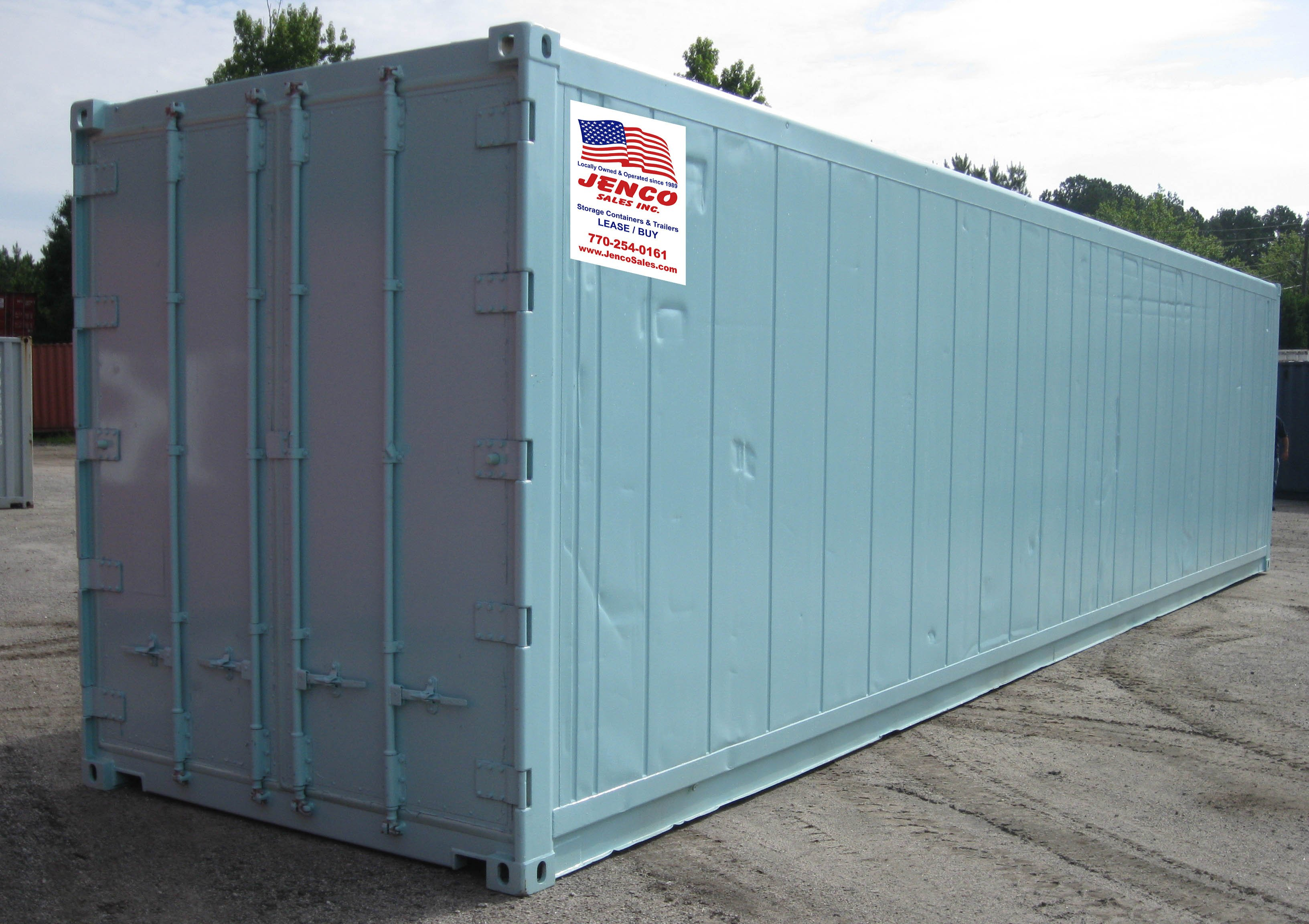Modified 40ft. Container