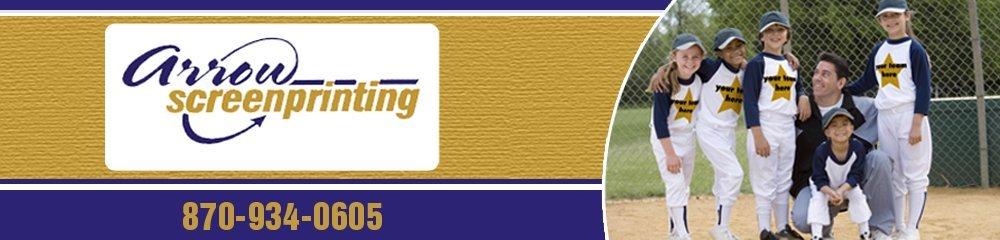 Screen Printing - Jonesboro, AR - Arrow Screenprinting