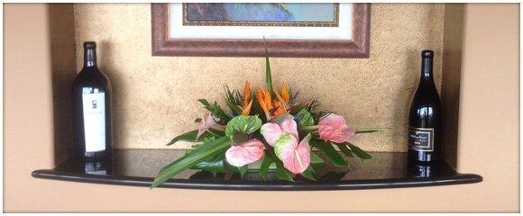 Flower Display | Haleiwa, HI | Alluvion, Inc. | 808-637-8835