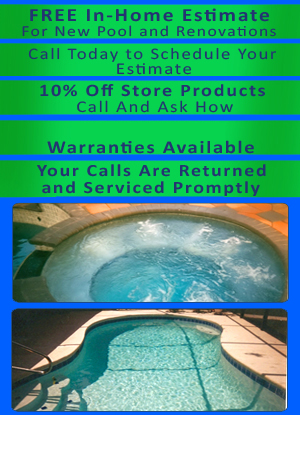 Custom Swimming Pools - St. Augustine, FL - St. Augustine Pools Inc